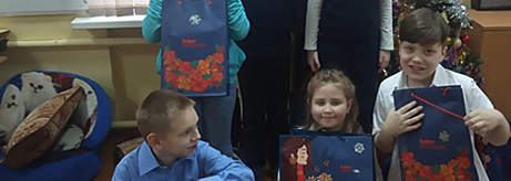 The Hermitage Brings New Year Greetings to Children with Special Needs